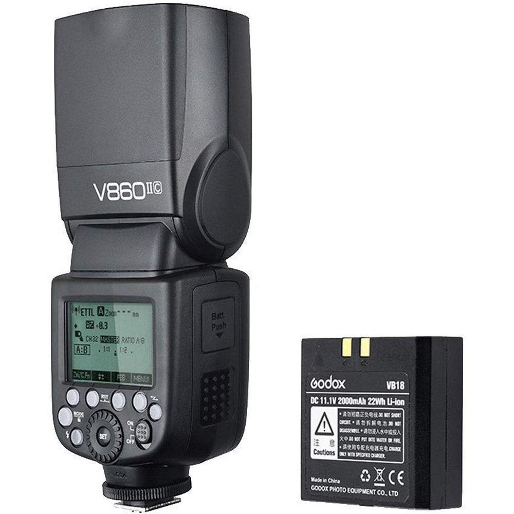 Godox Ving V 860 II TTL Li-Ion Flash Kit for Canon Cameras (Black)